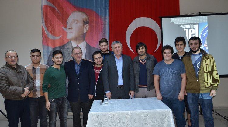 Başkan Sarıalioğlu, Yurt Öğrencilerine Tecrübelerini Anlattı