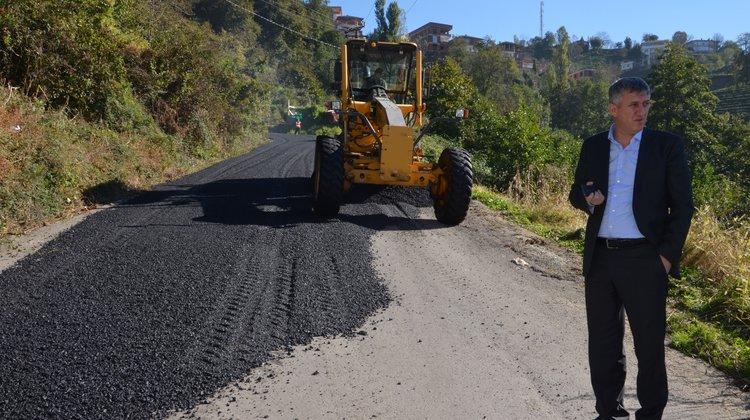 Of Belediyesi asfalt çalışmalarına hız verdi