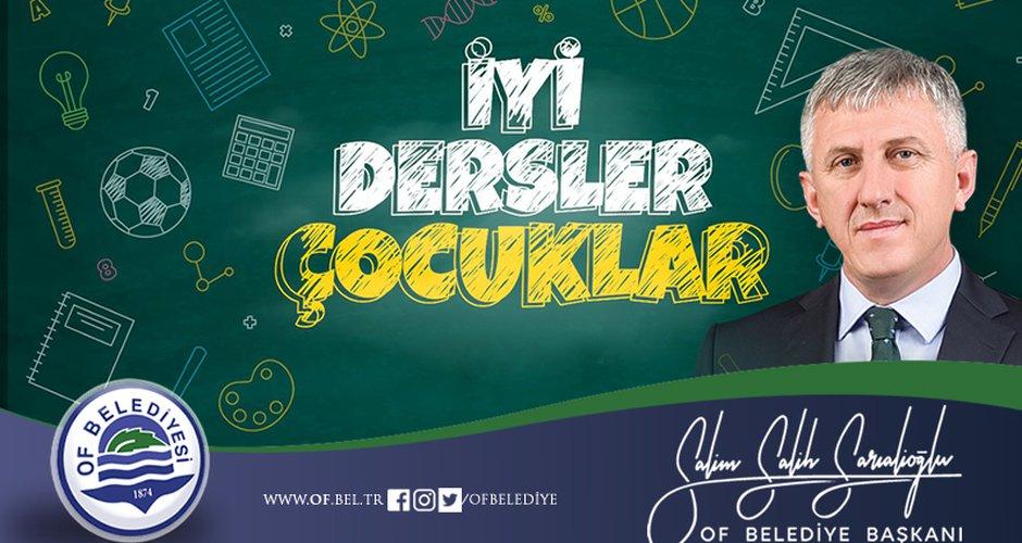 Başkan Sarıalioğlu'ndan Yeni Eğitim Öğretim Yılı Mesajı