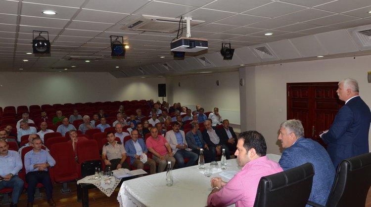 Of'ta eğitimde güvenlik ve istişare toplantısı yapıldı