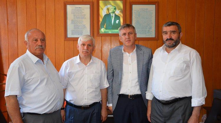 Milli Eğitim Müdürü İdris Kabahasanoğlu'na Hayırlı Olsun Ziyareti