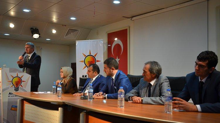 AK Parti Eylül Ayı Of İlçe Danışma Toplantısı Yapıldı