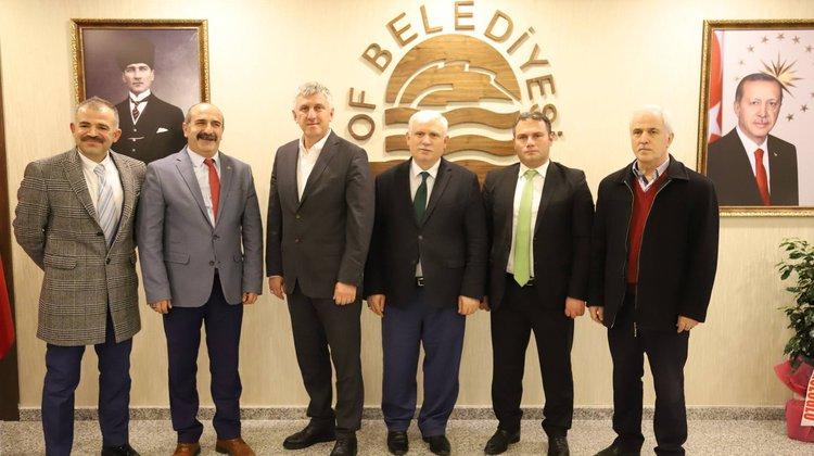 Müdür Kabahasanoğlu'ndan Başkan Sarıalioğlu'na Hayırlı Olsun Ziyareti