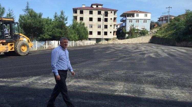 """Başkan Sarıalioğlu: """"Öğrencilerimiz için bu çalışmalarımız devam edecek"""""""