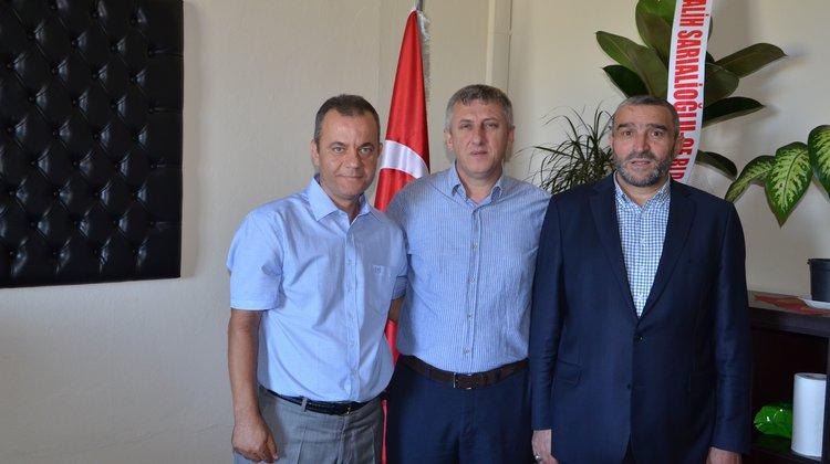 Başkan Sarıalioğlu'ndan Yeni Emniyet Müdürü'ne Ziyaret