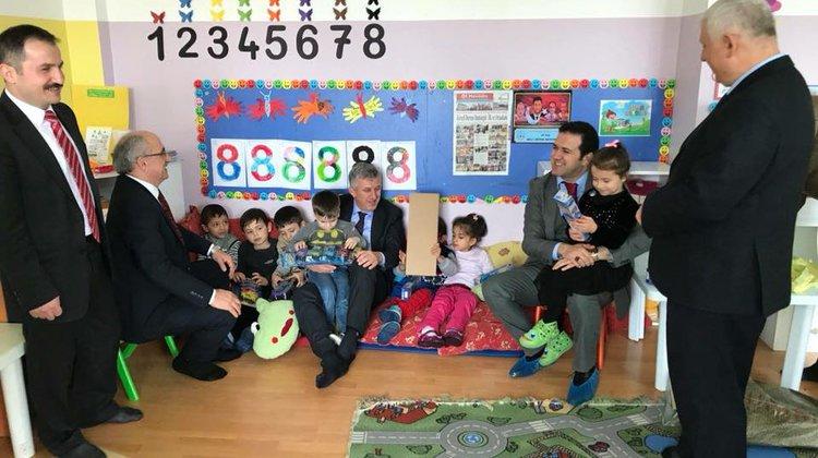 Kaymakam Fırat ve Başkan Sarıalioğlu Kireçli'de