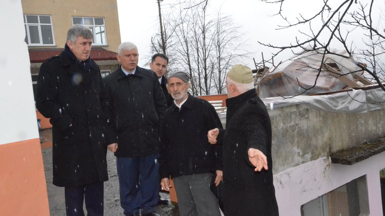 Başkan Sarıalioğlu, Kireçli Mahallesi'nde Vatandaşlarla Bir Araya Geldi