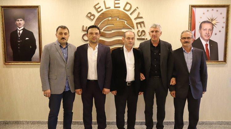 Tellioğlu Vakfı'ndan Başkan Sarıalioğlu'na ziyaret