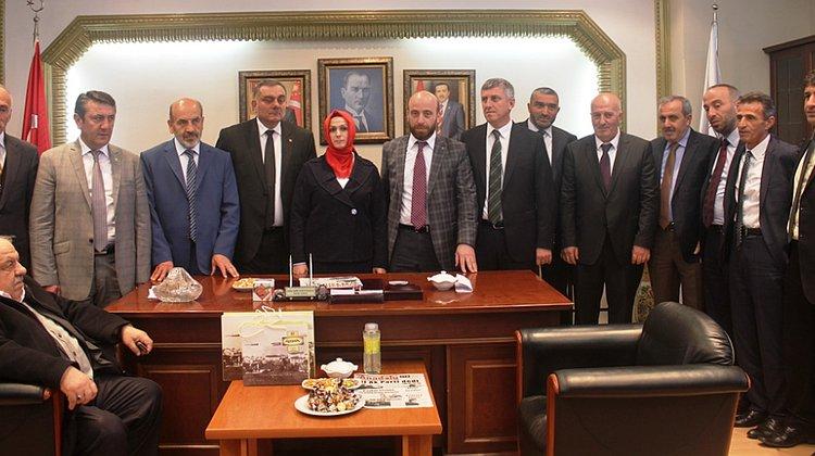 Başkan Sarıalioğlu göreve başladı