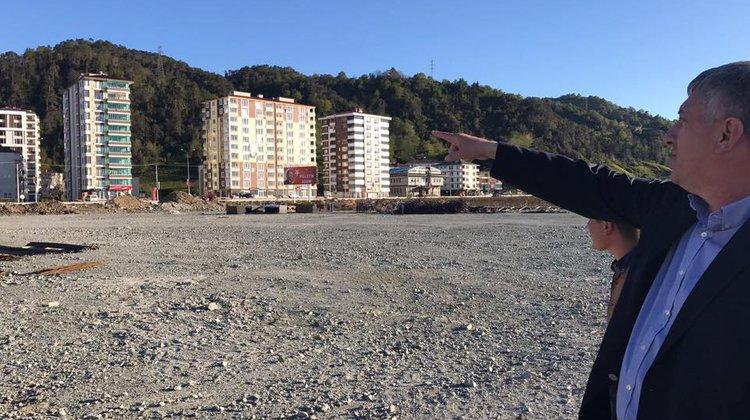 Of Spor Kompleksinin yapımına başlandı
