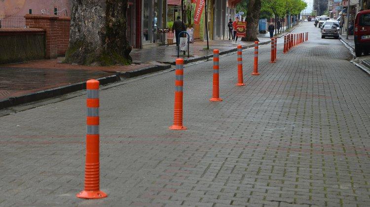 Of'ta Trafik Önlemleri Alınıyor
