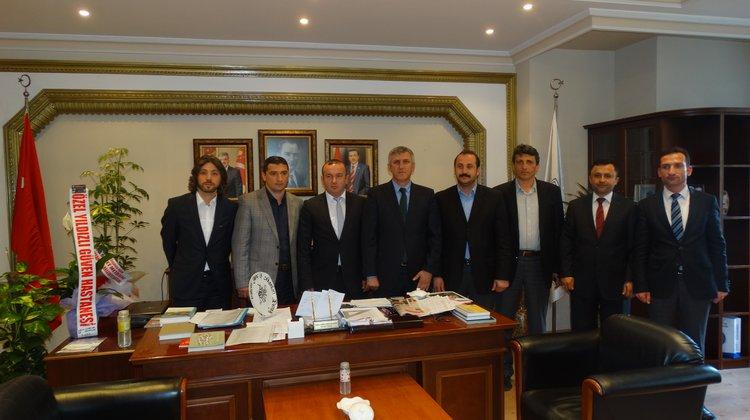 Genç İş Adamları Derneğinden Başkan Sarıalioğlu'na Ziyaret