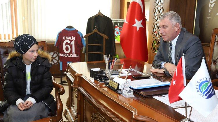 """Başkan Sarıalioğlu: """"İyi Ki Varsın Beyza Nur"""""""