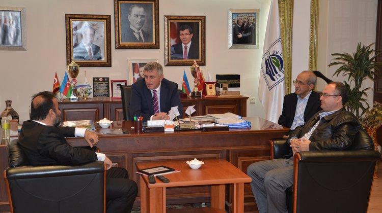 Trabzon Vakfı'dan Of Belediyesi'ne Ziyaret