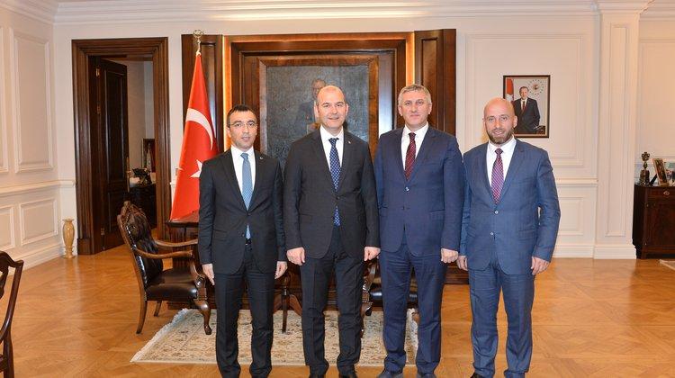 Başkan Sarıalioğlu'nun Yoğun Ankara Gündemi