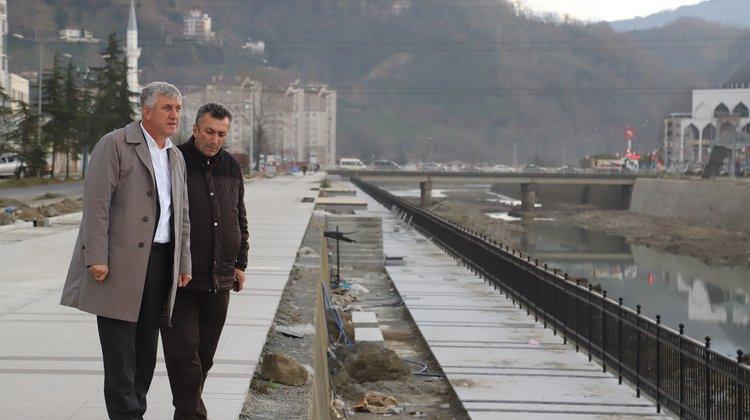 Başkan Sarıalioğlu, Solaklı Vadisi Projesi Çalışmalarını İnceledi
