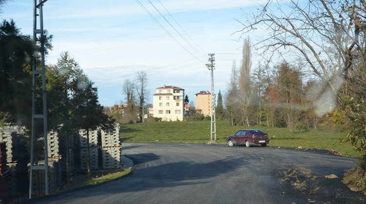 Of Belediyesi asfalt çalışmalarını sürdürüyor