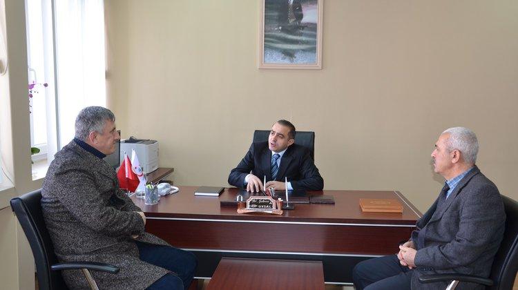 Başkan Sarıalioğlu'ndan Yeni Başhekime hayırlı olsun ziyareti