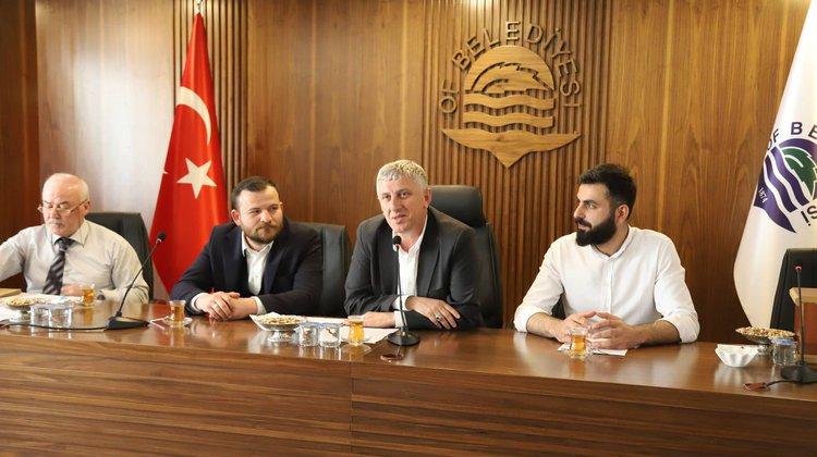Belediyenin yeni meclisi ilk toplantısını toplandı
