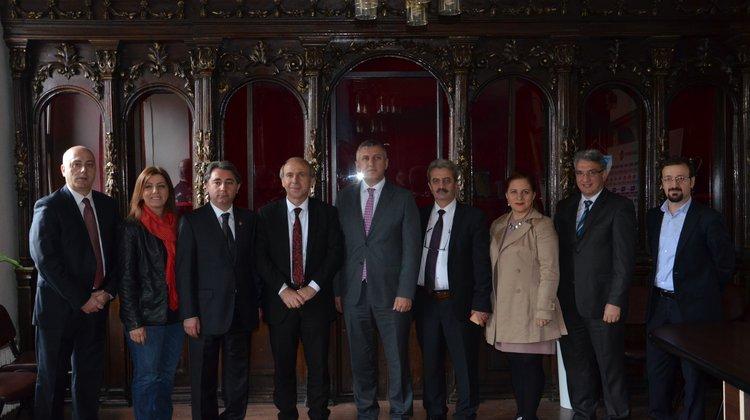Başkan Sarıalioğlu TGC'yi Ziyaret etti