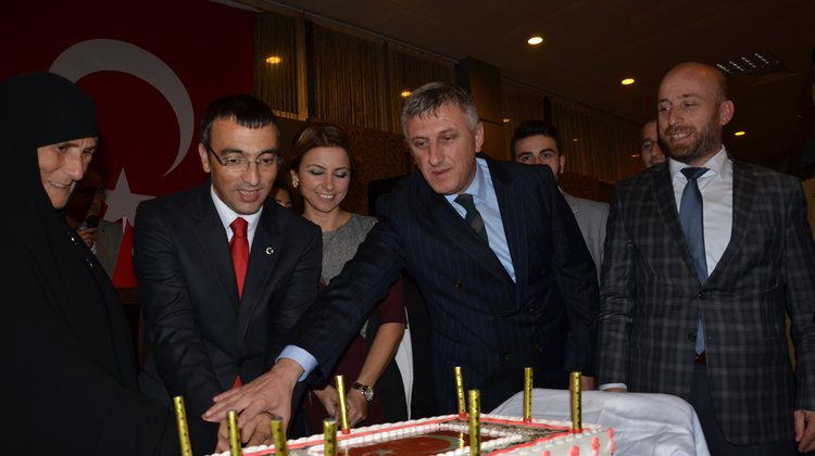Of'ta 29 Ekim Cumhuriyet Bayramı Resepsiyonu Gerçekleştirildi
