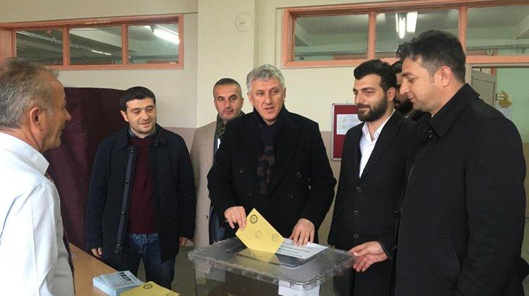 Başkan Sarıalioğlu Oyunu 1113 Nolu Sandıkta Kullandı
