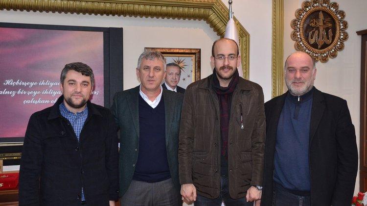 TÜGVA Trabzon İl Temsilciliğinden Başkan Sarıalioğlu'na ziyaret