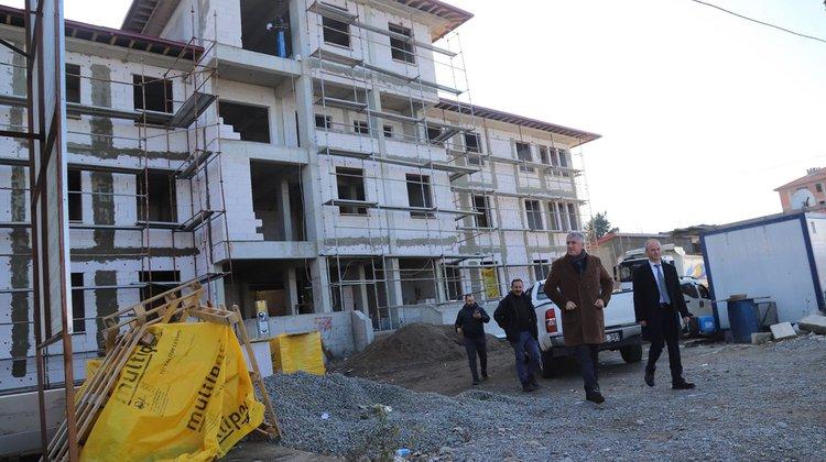 Başkan Sarıalioğlu, Yeni Jandarma Binasını İnceledi