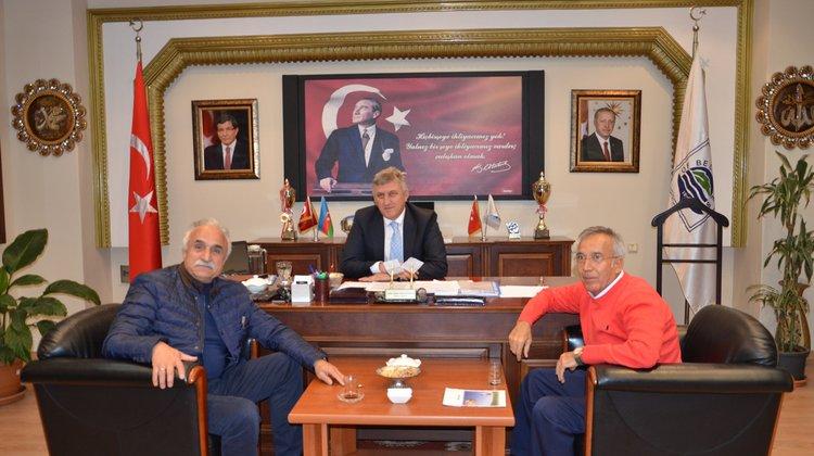 Yavuz Donat'tan Başkan Sarıalioğlu'na Ziyaret
