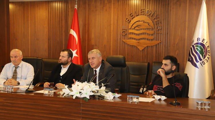 """Başkan Sarıalioğlu, """"Daha Güzel Bir Of İçin Çalışıyoruz"""""""