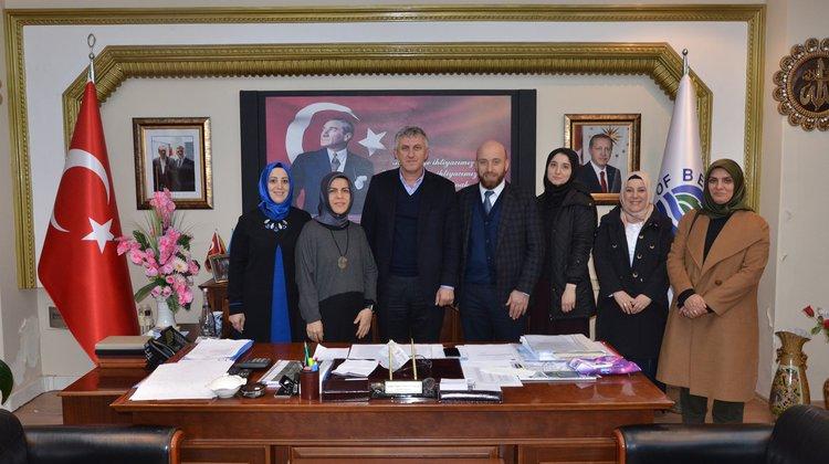 Kadem Trabzon İl Temsilciliğinden Başkan Sarıalioğlu'na ziyaret