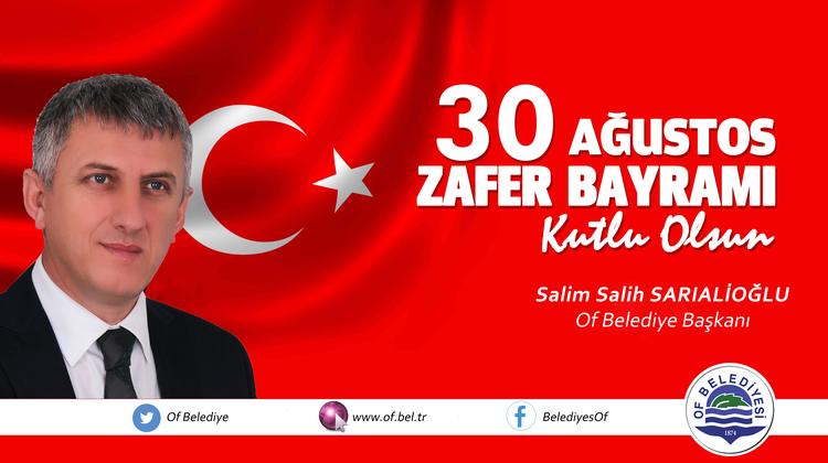 Başkan Sarıalioğlu'ndan 30 Ağustos Zafer Bayramı Mesajı