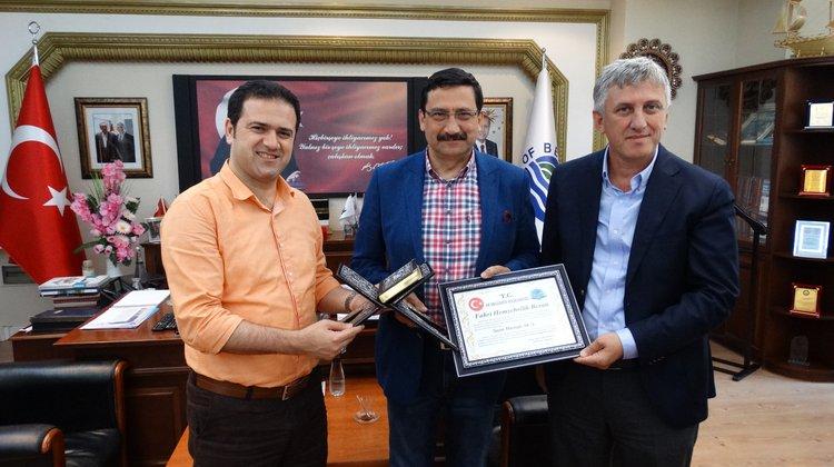 Başkan Sarıalioğlu'ndan Keçiören Başkanı Mustafa Ak'a Berat