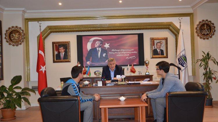 Of Anadolu Lisesi'nden Başkan Sarıalioğlu'na Ziyaret