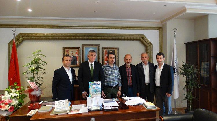 Özel İmperial Hastanesi Başkan Sarıalioğlu'nu ziyaret etti