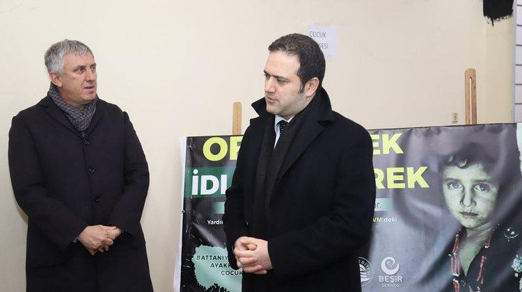 Of'tan İdlib'e Gidecek Olan Yardım Tırı Bugün Gönderiliyor