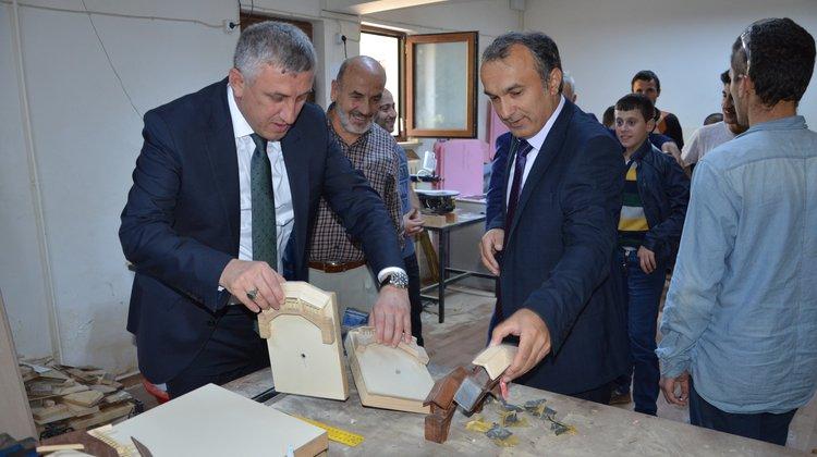 Başkan Sarıalioğlu Özel Eğitim Öğrencileriyle Buluştu