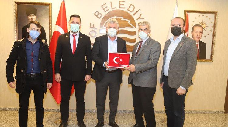 Gazilerden Başkan Sarıalioğlu'na ziyaret