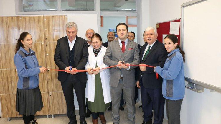 Of Şehit Ahmet Türkkan Lisesine Yeni Öğretmenler Odası