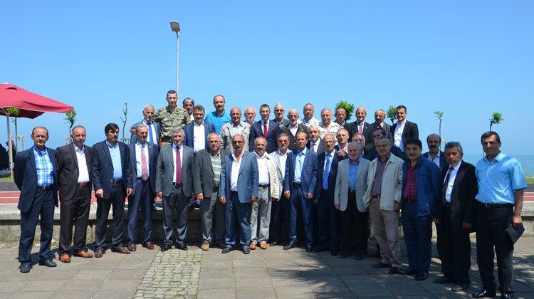 Kaymakam Arslan ve Başkan Sarıalioğlu Muhtarlarla Kahvaltıda Buluştu