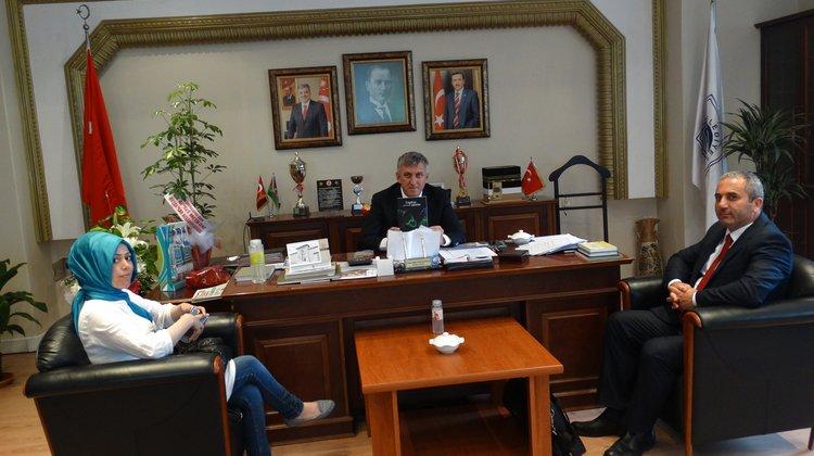 Engelsiz Hayat Dayanışma Derneği'nden Başkan Sarıalioğlu'na Ziyaret