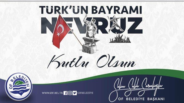 Başkan Sarıalioğlu Nevruz Bayramı'nı Kutladı