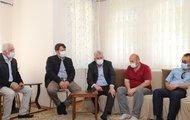 Başkan Sarıalioğlu'ndan evi yanan Akyıldız ailesine ziyaret