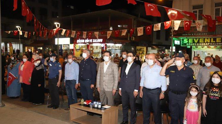 15 Temmuz Demokrasi ve Milli Birlik Günü Of'ta kutlandı