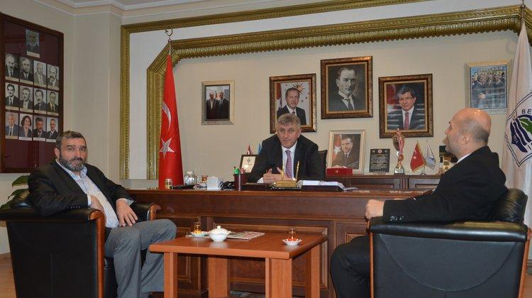 Prof. Dr. Ahmet Ulusoy Başkan Sarıalioğlu'nu Ziyaret Etti