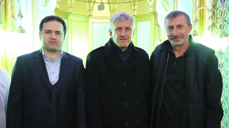 Başkan Sarıalioğlu, Miraç Kandilinde Vatandaşlarla Buluştu