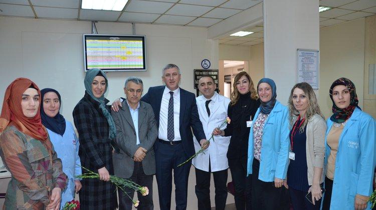 Başkan Sarıalioğlu'ndan Tıp Bayramı Mesajı