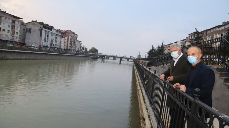 Başkan Sarıalioğlu, Solaklı Vadisi İnşaatını İnceledi