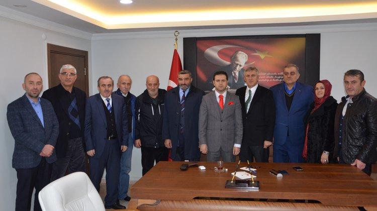 Başkan Sarıalioğlu'ndan yeni Kaymakam Fırat'a hayırlı olsun ziyareti