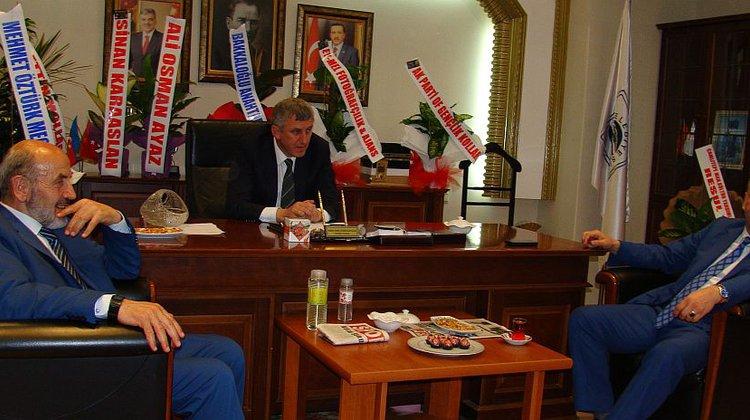 Milletvekili Saral'dan Başkan Sarıalioğlu'na ziyaret